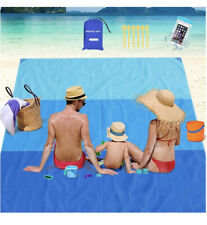 200*210cm Extra Large Picnic Blanket Outdoors Beach Camping Free Sand Mat Travel