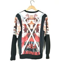 Hood By Air Size L Graphic Crew Neck Sweatshirt Pullover HBA Reflective