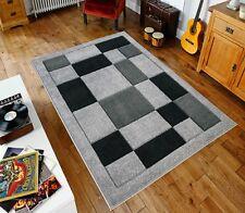 Grey/Black Havana90 Rug carpet Thick 12MM Polypropylene Non Shed Soft Dust Proof