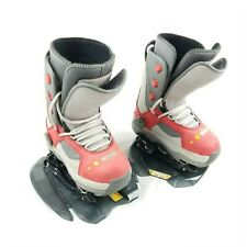 STEP IN SNOWBOARD BOOTS Head Step-In Boots 4 POINT CONTACT STEP X4 W/ BINDINGS