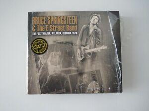 BRUCE SPRINGSTEEN , FOX THEATER ATLANTA 1978. 3 CD DIGIPACK DE LUXE EDITION