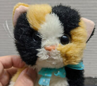 Tyco Vintage DSI Kitty Kitty Kittens Calico Cat Plush - Purrs when petted