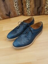Paul Smith Blue Leather Shoes, size UK9.5 or EUR43.5 - VGC, RRP £285.00