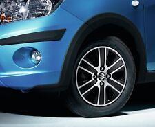 """Suzuki Genuine Celerio SZ2 SZ3 Alloy Wheel 14"""" 'Mars' Black Polished 43210-84MD0"""