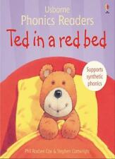 Ted in a red bed (Usborne Phonics Readers),Phil Roxbee Cox, Stephen Cartwright