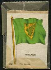 Ireland 22nd Series #17 Silk Flag/Card (C118B)