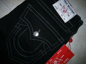 True Religion Ricky Relaxed Straight Jeans 102157 Men's Size 33 X 34