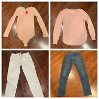 JUNIOR GIRL'S  FALL CLOTHING LOT 44 PCS (FOREVER 21, H&M, GUESS, CALVIN KLEIN)