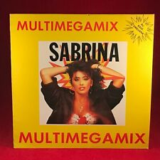 "SABRINA Multimegamix 1988 Spanish 12"" Megamix Vinyl Single EXCELLENT CONDITION"