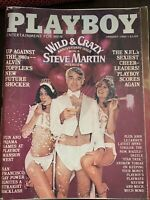 January 1980 Playboy - The Wild and Crazy Steve Martin! Star Trek, Pajama Games