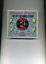 GANGSTER OF LOVE - THE APT RECORDS STORY - LONNIE DONEGAN DARTS - 2 CDS - NEW!!