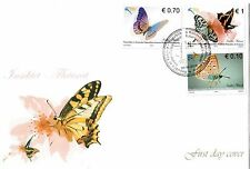 Kosovo Stamps 2012. Fauna: Butterflies. FDC Set MNH