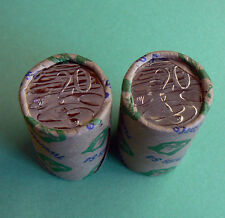 2x 2006 20c Security Roll Australian Platypus uncirculated unc coins rolls coin