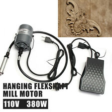 Motor Hanging Flexible shaft Mill Jewelry Design Repair Tools 4mm 110V 22000Rpm
