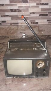 Vintage Sony Micro Television SONY 5-303W MICRO TV (1959)