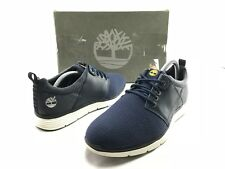 Timberland Killington Men's Navy Leather Lace Up Active Sneakers US 9 Shoes B298