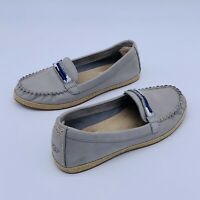 UGG Rozie Serape Bead Flat Moccasin Loafers Slip On S/N 1011176 Womens Sz 6 Gray