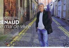 Coupure de presse Clipping 2015 Renaud Séchan  (6 pages)