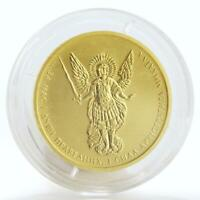 Ukraine 10 hryvnias Archangel Michael Bullion gold coin 1/2 oz 2015