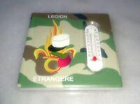 MAGNET Thermomètre en CÉRAMIQUE Légion Étrangère 7,5 x 7,5 x 0,6 centimètres