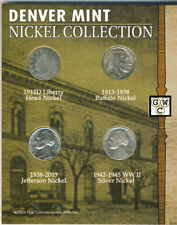 USA Denver Mint 4 Coin Nickle Collection  Set (OOAK)