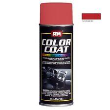 SEM Color Coat System 15373 Flame Red Aerosol Vinyl Spray Paint 12OZ Can