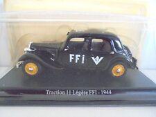 1/43 . CITROEN Traction 11 légère FFI 1944       U.H