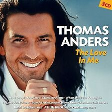 THOMAS ANDERS - THE LOVE IN ME 3 CD NEU