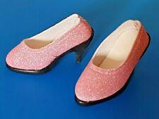 *ROSA GLITTER* shoes HIGH HEELS for doll SD BJD 10/13 girl **Schuhe Pumps**