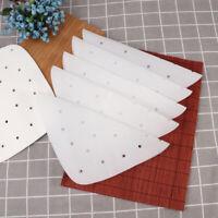 100 Sheets Steamer Paper Pans Non-Stick Air Fryer Paper Parchment Sheet for Buns