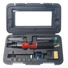 Cordless Butane Gas Soldering Heating Torch Kit of 10pcs Professional Quality