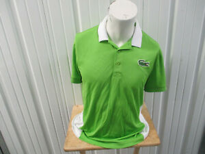 VINTAGE LACOSTE SPORTS X MIAMI TENNIS OPEN ITAU LARGE POLO SHIRT STAFF ISSUED