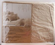 New DKNY Pure Comfort Organic Cotton Duvet Cover Dune