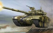Trumpeter 1/35 05560 Russian T-90 main battle tank cast turret model kit