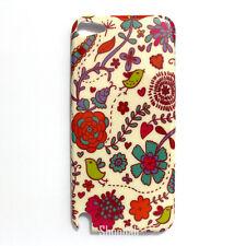 Bird Flower Pattern Hard Case Cover Skin for iPod Touch 5 Gen 5th Generation