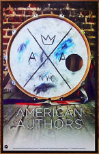 AMERICAN AUTHORS Oh What A Life Ltd Ed New RARE Poster +FREE Indie Rock Poster!