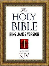 THE HOLY BIBLE (King James version), AUDIO DVD & OVER 700+ CHRISTIANITY IMAGES