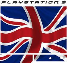 PlayStation 3 PS3 UNION JACK Vinyl Sticker Skin