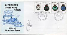 Gibraltar Escudos Sobre primer día del año 1983 (DF-286)