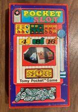 Vintage 1975 TOMY Pocketmate POCKET SLOT Game