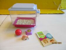American Girl Doll of the Year Retired McKenna Loft Bed Cage Hamster & cage set