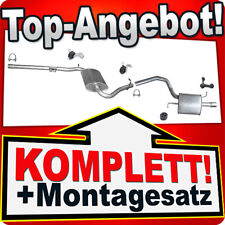 Auspuff AUDI A4 (B6 B7) 1.6 ALZ 102PS Stufenheck / Kombi Avant Auspuffanlage B60