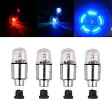 4pcs Car Auto Wheel Tire Tyre Air Valve Stem LED Light Caps Cover Accessories