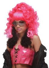 Pink/Black Rap Princess Wig for Halloween Costume