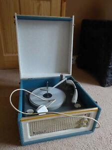 Vintage 1960s Dansette record player.