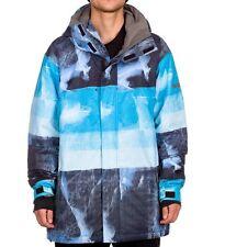 QUIKSILVER Men's NEXT MISSION Print Snow Jacket - SLA - Large - NWT