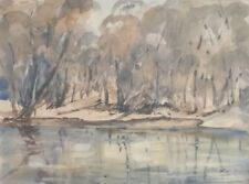 Connie Walker. Original Watercolour. A listed Australian artist.