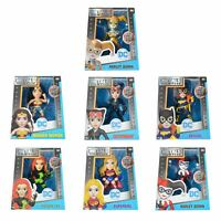 """Metals Die Cast Collectable Boxed Display Figures DC Comics 4"""" Women Characters"""