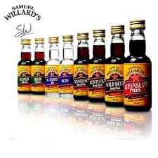 SAMUEL WILLARDS SPIRIT ESSENCES SCOTCH WHISKY X10 PACK