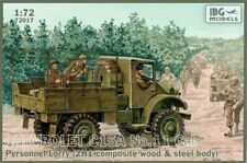 IBG Models 1/72 Kit Chevrolet C15a No.11 CAB Personnel Lorry WWII